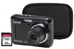 Kodak PIXPRO FZ43 Camera Kit inc Case & 32GB Memory Card